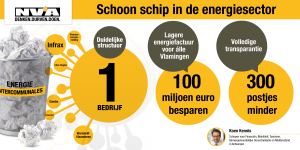 N-VA wil kluwen van intercommunales vervangen door één Vlaams nutsbedrijf