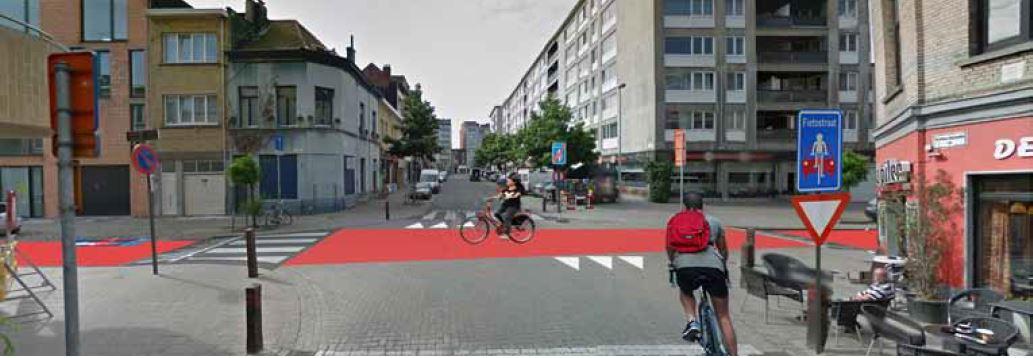 Fietsstraat Borgerhout