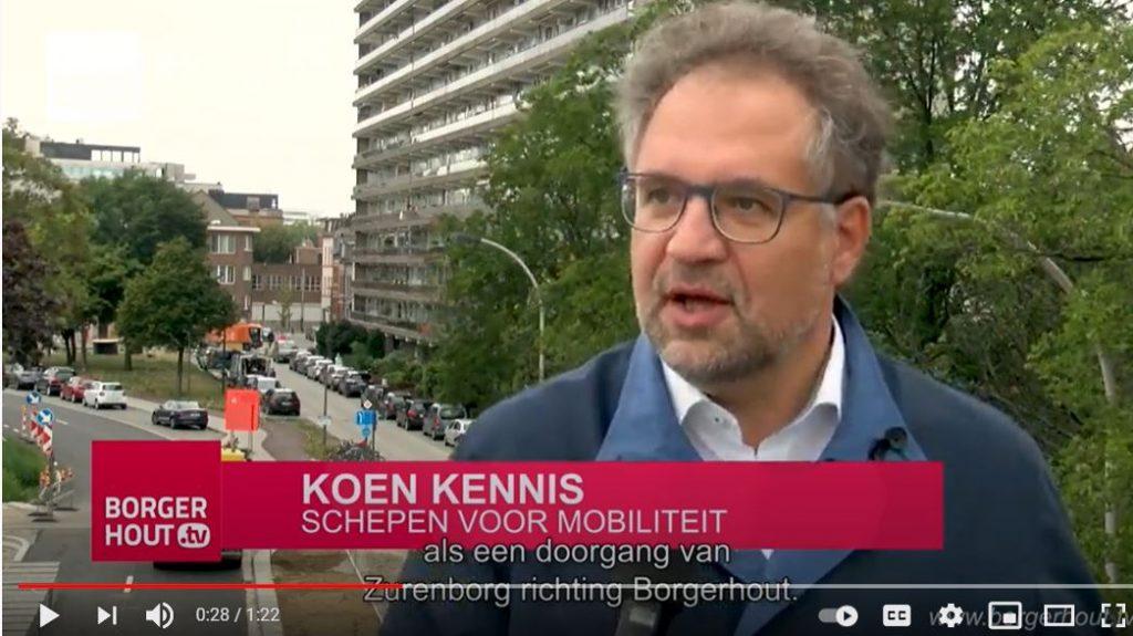 Op Borgerhout TV gaf ik in september 2020 reeds tekst en uitleg over de fiets- en wandelverbinding door het Spoorpark, over de Plantin en Moretuslei heen.